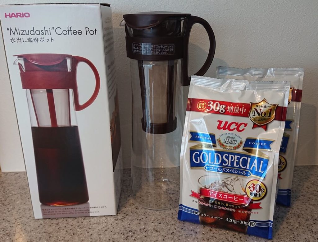 HARIOの水出しコーヒーポット