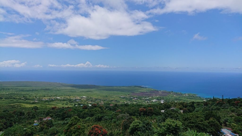 【ハワイ島】コーヒーシャック店内からの眺め