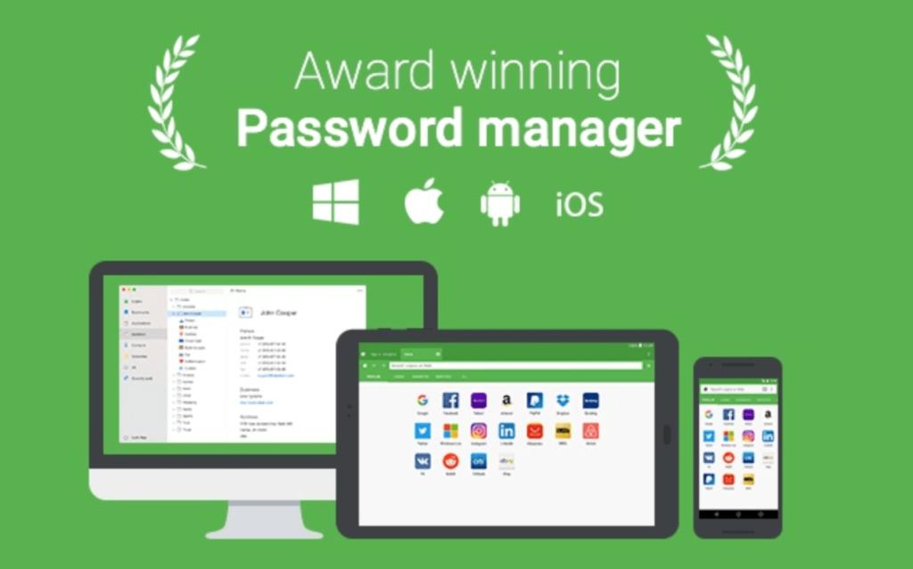 おすすめchrome拡張機能のroboform password manager