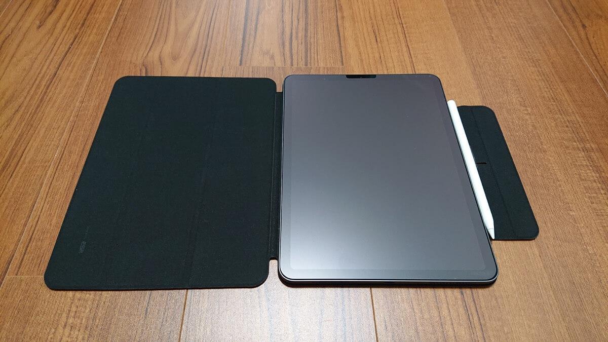 Apple Pencilが収納できるiPad Airケース